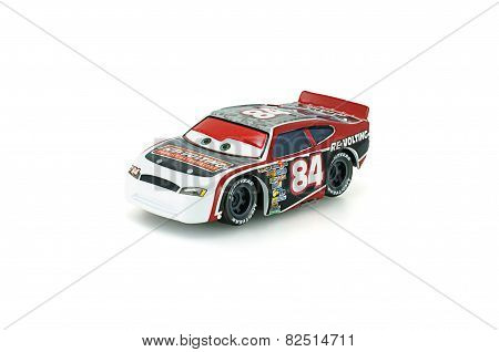 Davey Apex Number 84 Toy Car A Protagonist Of The Disney Pixar Feature Film Cars.