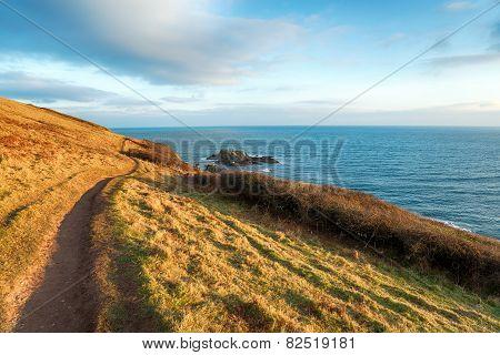 Talland Bay In Cornwall