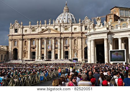 Papal Audience In St. Peter's Square