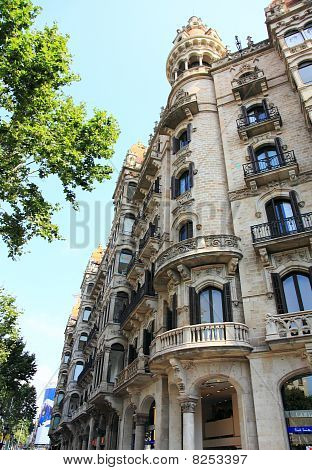 Architecture in Barcelona, Spain