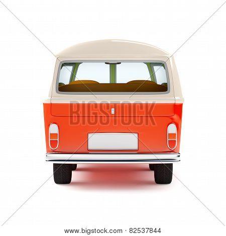 travel van back