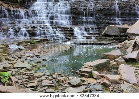 Albion Falls Rocks and Pond