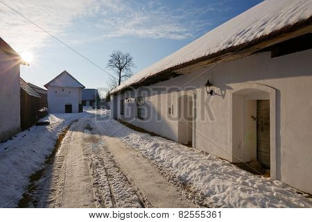 Slovak traditional architecture.