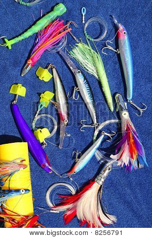 Big Game Fishing Lures Hook For Tuna Marlin
