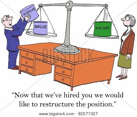Restructure The Position