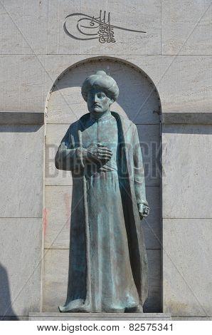 Statue of Fatih sultan mehmed