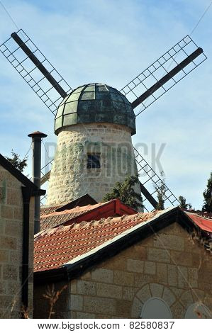 Montefiore Windmill and Yemin Moshe Neighborhood, Jerusalem
