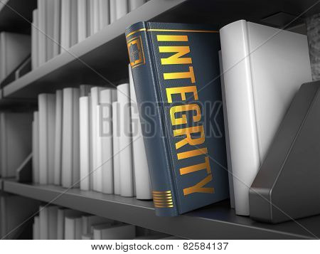 Integrity - Title of Grey Book.
