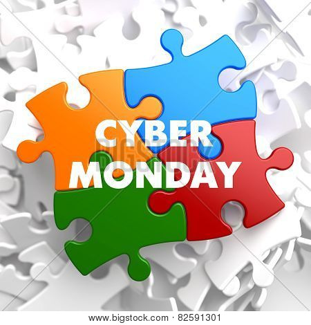 Cyber Monday on Multicolor Puzzle.