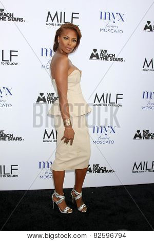 LOS ANGELES - FEB 6:  Eva Marcille at the MILF (Moms I like To Follow) Celebration Of Entertainment at a SLS Hotel on February 6, 2015 in Beverly Hills, CA