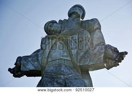 World War Two Memorial In Dilijan