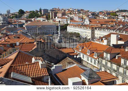 Rooftops Of Lisbon