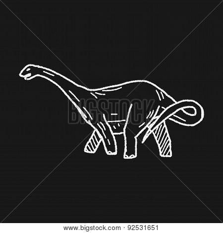 Brontosaurus Dinosaur Doodle