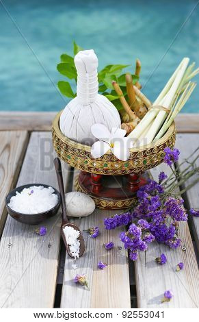 Spa Accessories With Thai Herb