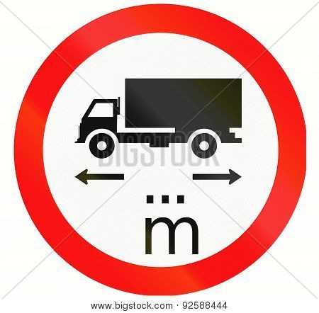 Lorry Length Limit In Indonesia