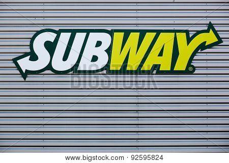 Subway fast food logo
