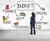 Budget Finance Cash Fund Saving Accounting Concept poster