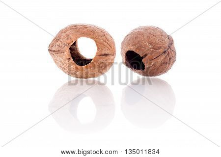 Walnuts Shell With Holes