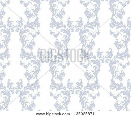 Vintage floral classic ornament pattern. Vector illustration