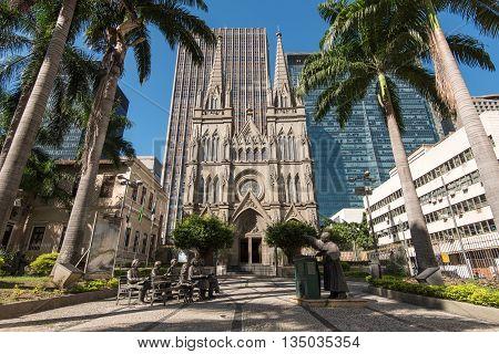 The Presbyterian Church in Rio de Janeiro city downtown