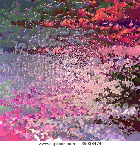 Abstract coloring background of the horizon gradient with visual wave,crystallize and plastic wrap effects
