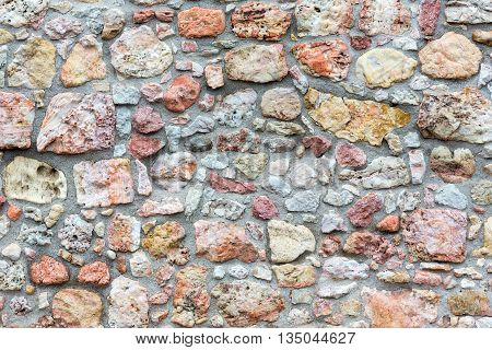 Stony Wall Background.