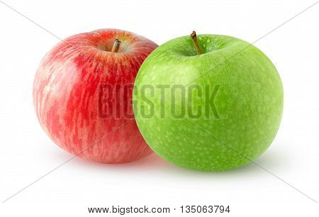 Isolated Double Apples
