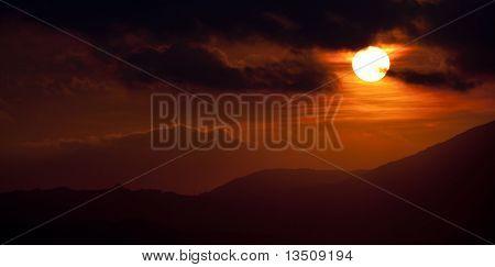 Sunset Over Algecrias