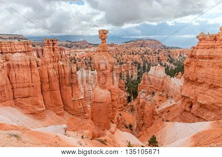 Thor's Hammer in Bryce Canyon National Park in Utah USA