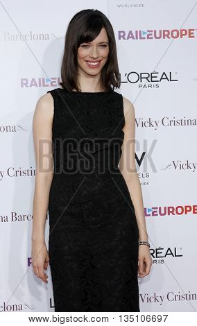 Rebecca Hall at the Los Angeles premiere of 'Vicky Cristina Barcelona' held at the Mann Village Theater in Westwood, USA on August 8, 2008.