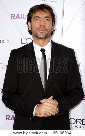 Javier Bardem at the Los Angeles premiere of 'Vicky Cristina Barcelona' held at the Mann Village Theater in Westwood, USA on August 8, 2008.