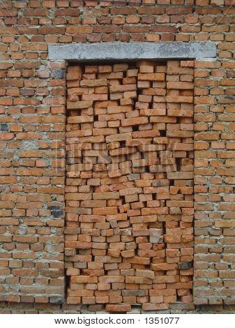 Red Brick Door