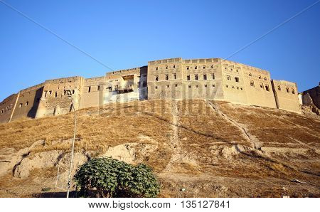 Old Arbil Castle in Kurdistan, North Iraq.