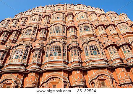 Hawa Mahal palace - Palace of the winds- in Jaipur