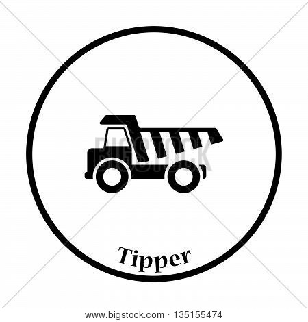Icon Of Tipper