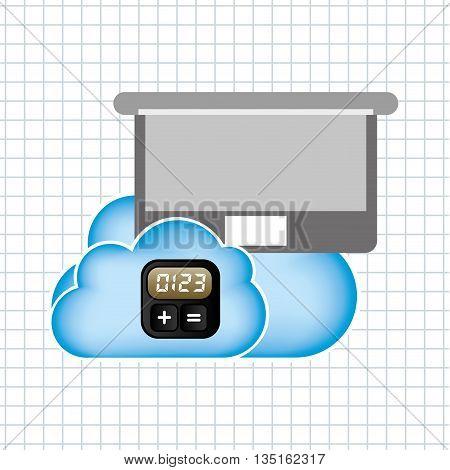 application service design, vector illustration eps10 graphic
