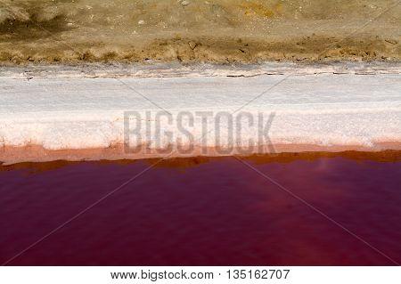 Bassin For Seawater Desalination / Salt Extraction