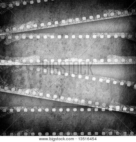 vintage film layout