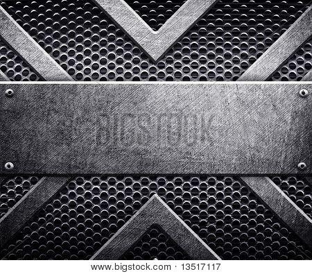pattern of metal plate