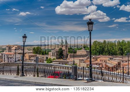 A beautiful sunny day in Toledo, Spain.