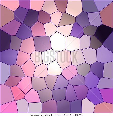 Abstract coloring background of the horizon gradient with visual wave and stained glass effects,good for your design