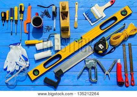 tool set work repair equipment kit builder