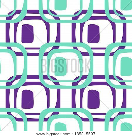 Abstract Geometric Pattern. A Seamless  Background.
