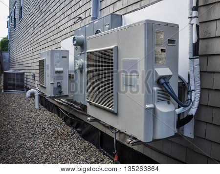 Air conditioning and heating power inverters HVAC units