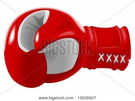 Boxeo Glove_red