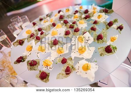 Catering Eating Companionship Buffet Festive Concept banquet poster