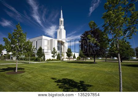 Ogden Tabernacle -- Church of Jesus Christ of Latter-Day Saints