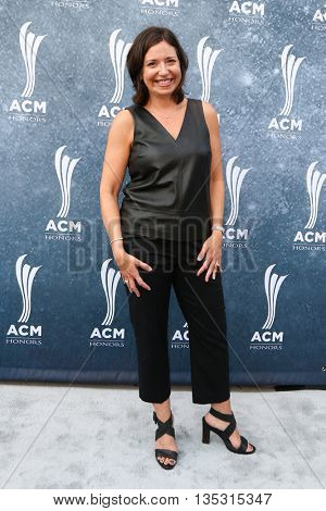 NASHVILLE, TN-SEP 1: Sally Williams attends the 9th Annual ACM Honors at the Ryman Auditorium on September 1, 2015 in Nashville, Tennessee.