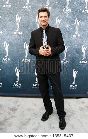 NASHVILLE, TN-SEP 1: Chris Isaak attends the 9th Annual ACM Honors at the Ryman Auditorium on September 1, 2015 in Nashville, Tennessee.