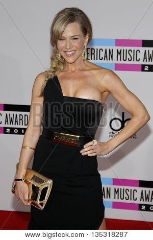 Julie Benz at the 2010 American Music Awards held at the Nokia Theatre L.A. Live in Los Angeles, USA on November 21, 2010.